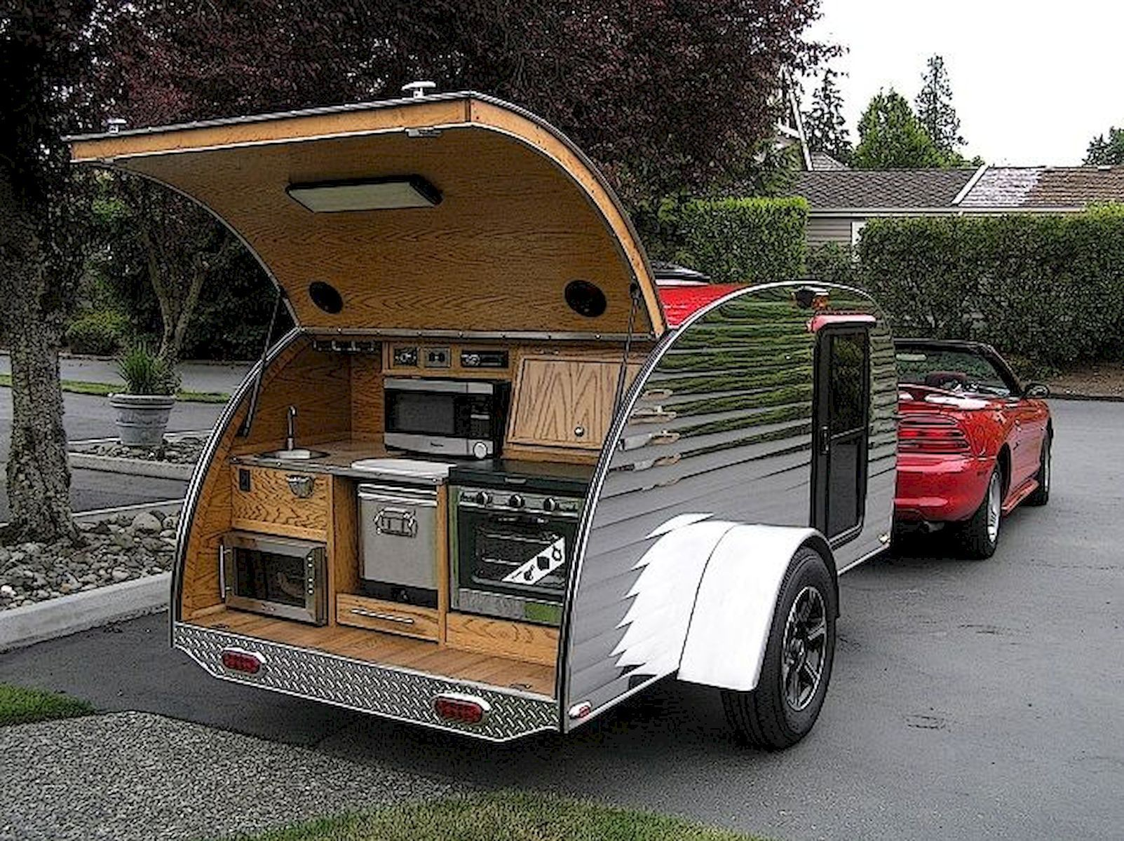Tiny Camper Trailer for Your Holiday - HAJAR FRESH -   -
