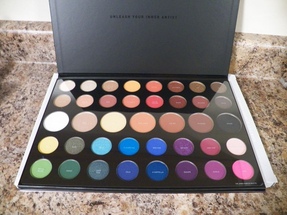 Morphe X James Charles Collab Sold Out Eye Shadow Pallete Christmas