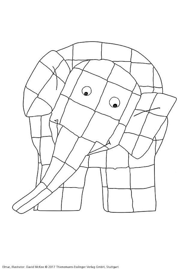 Pin Von Andrea Veronica Roldan Auf Nanne In 2020 Elmar Elefant Kinderbucher Elefant Basteln