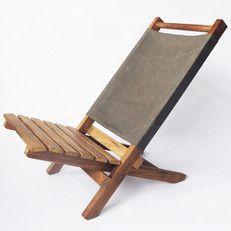 Kleine Inklapbare Strandstoel.Teakhouten Strandstoel Transat Strandstoelen Teakhout