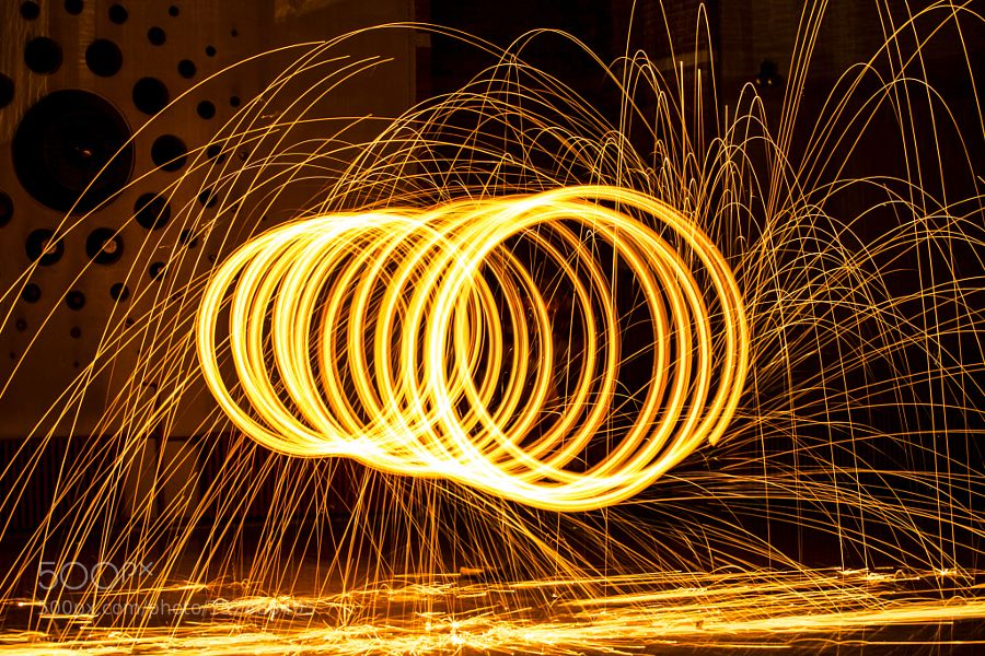 Long Exposure with Steel Wool by x3mwoman