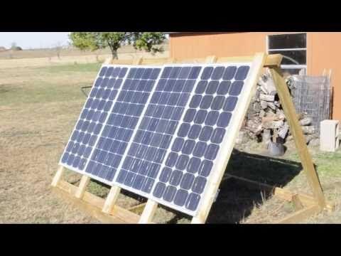 How To Build A Solar Array Diy Solar Wind Solar Panels Best Solar Panels Solar Power Diy