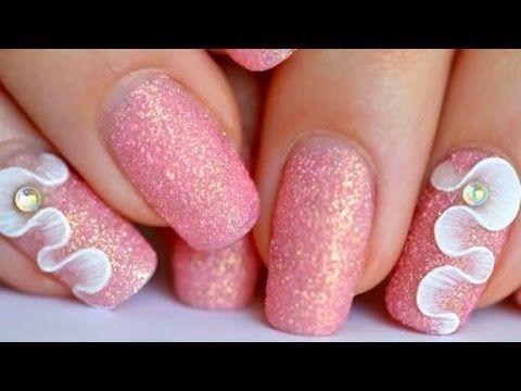 Nail Art Beginner 3d Gel Vs Resin Youtube Cosmetology Nails