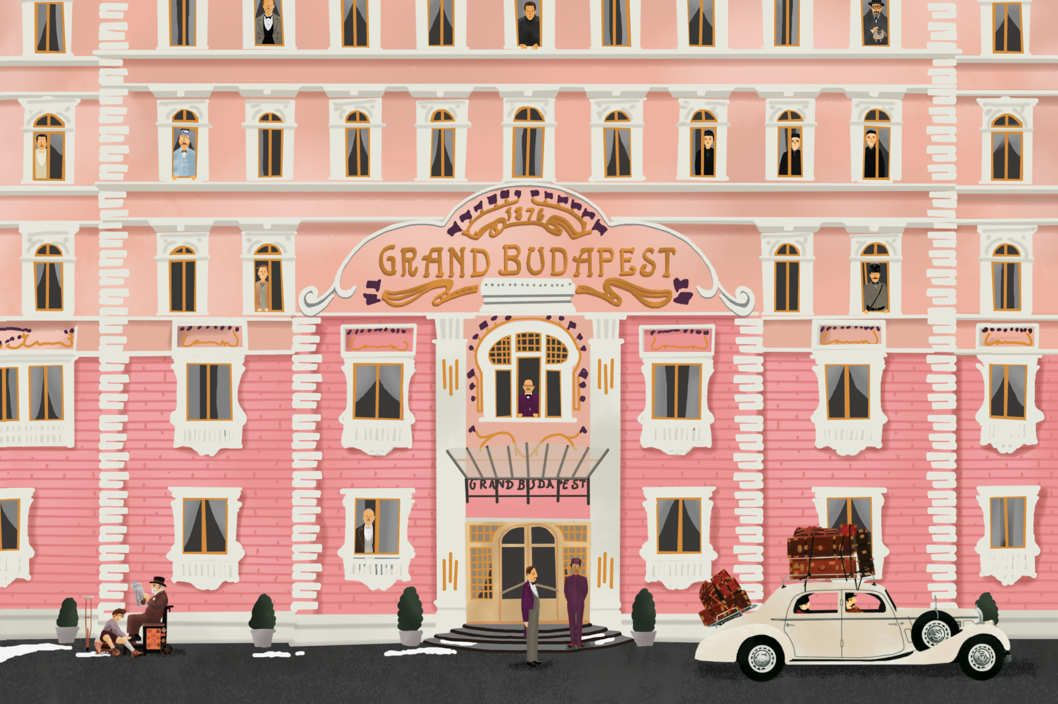 How Wes Anderson Cast The Grand Budapest Hotel Desktop Wallpaper Art Budapest Hotel Grand Budapest Hotel