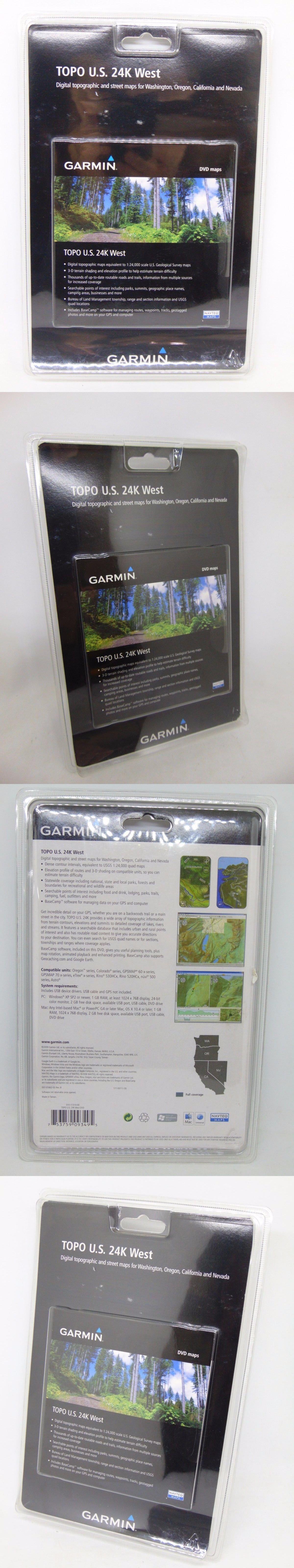 GPS Software And Maps Garmin Topo US 24K West Digital - Buy Us Topo24k Garmin Maps
