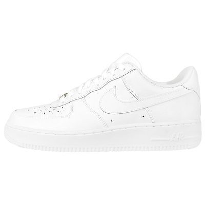 Nike Air Force 1 07 All White Whiteout Classic Mens Shoes Sneakers 315122- 111 a6c5b2fae81