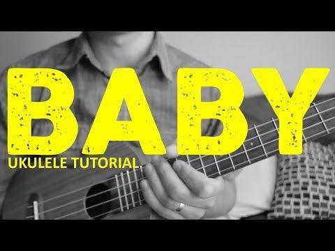 Baby - Justin Bieber - EASY Ukulele Tutorial - Chords ...