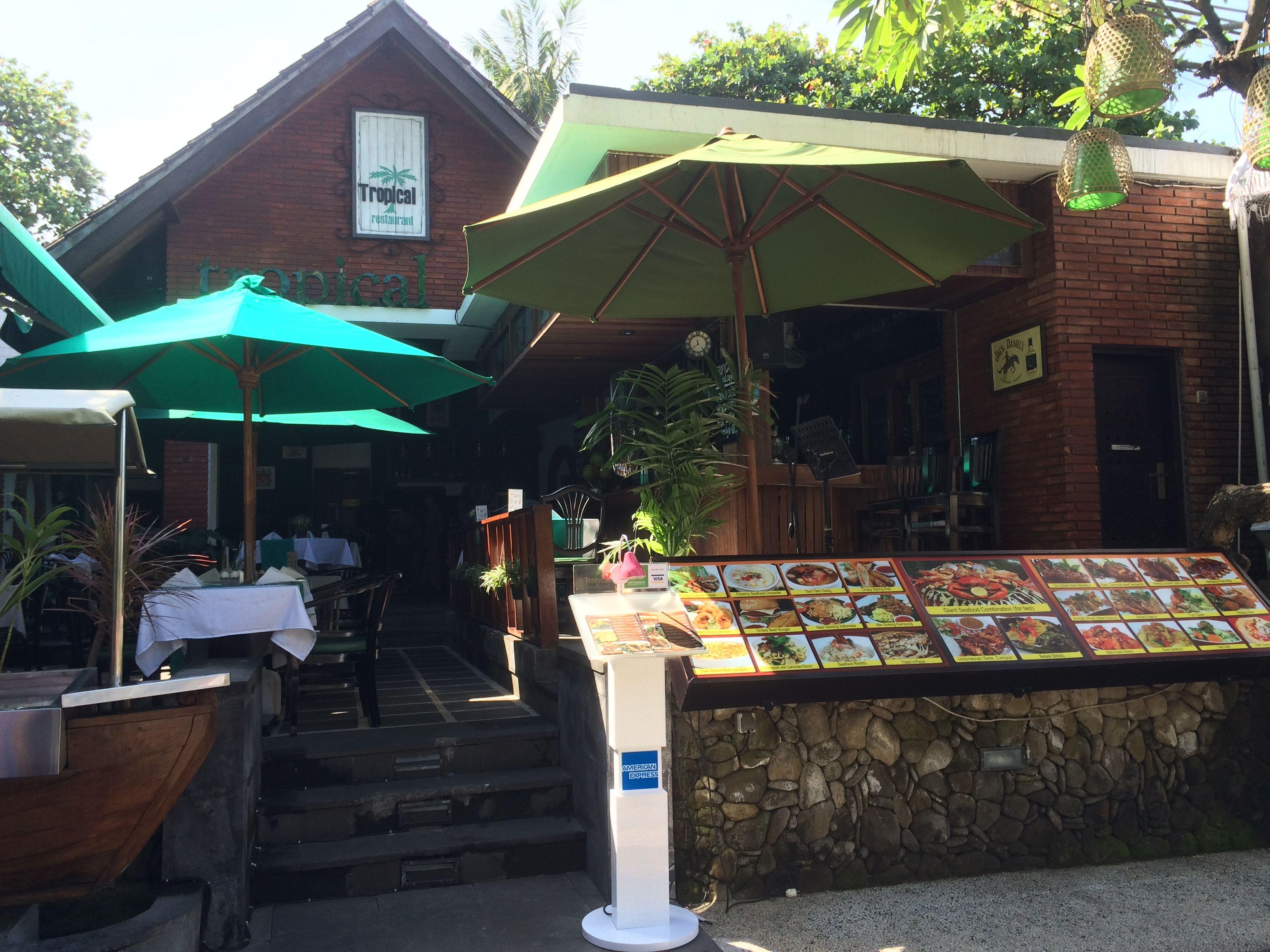Restaurant Tropical Garden Address 48 JL Cemara