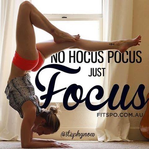 The key is focus. No hocus pocus allowed. http://paleoaholic.com/