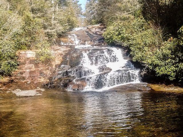Upper Grassy Creek Falls Another Secret Waterfall In Dupont State Forest Dupont State Forest State Forest Waterfall