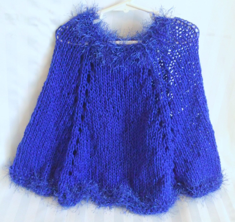 Little Girl Poncho. Sapphire Blue. Persian Blue. Navy Blue. Blue ...