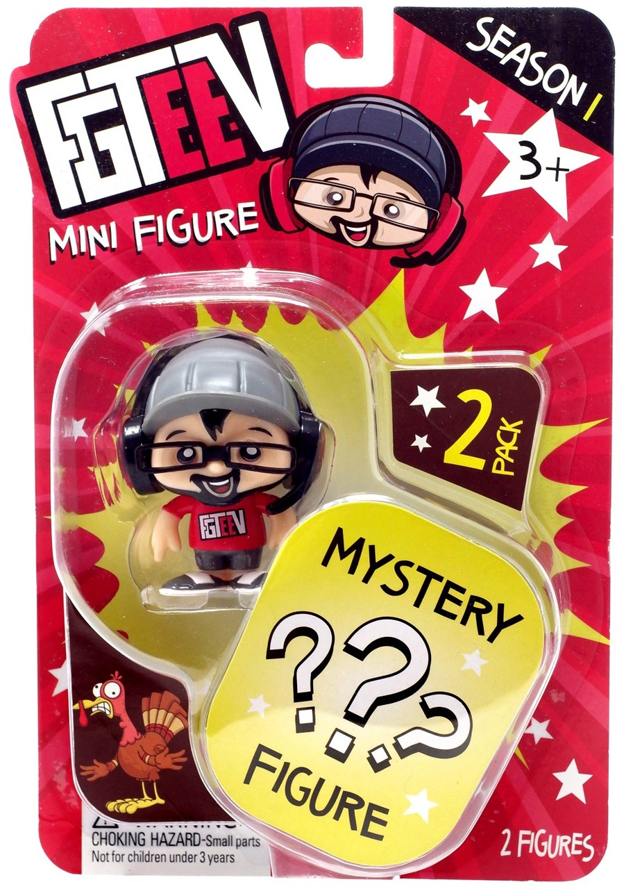 Fgteev Season 1 Duddy Mystery Action Figure 2 Pack Action Figures Mystery Kids Entertainment [ 1280 x 899 Pixel ]