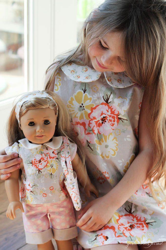 Doll Clothes Panel Tutorial | Pinterest | Waldorfpuppen, Nähen für ...