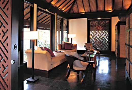 Love The Dark Wood Balinese Interior