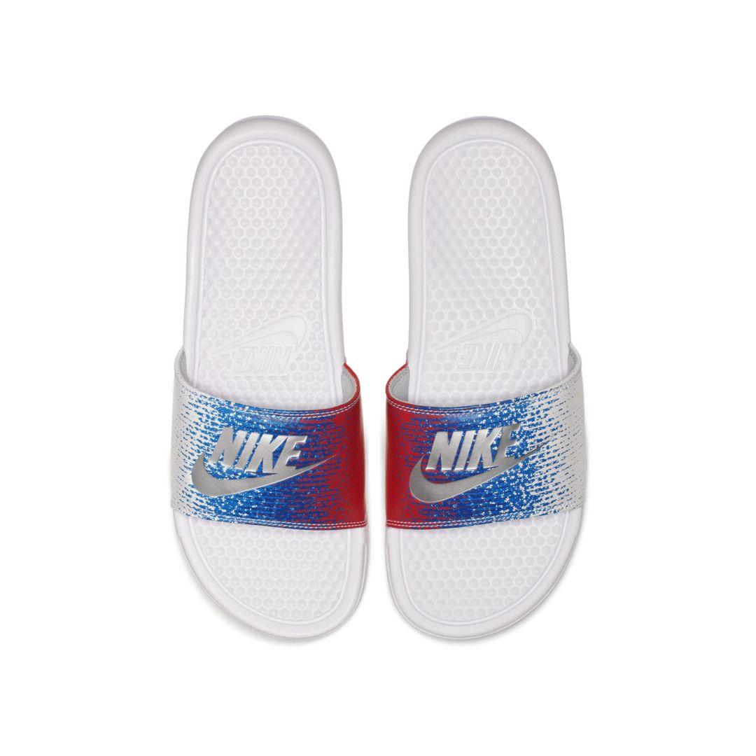 3385517c3 Nike Benassi Slide Size 15 (White) | Products in 2019 | Nike benassi ...