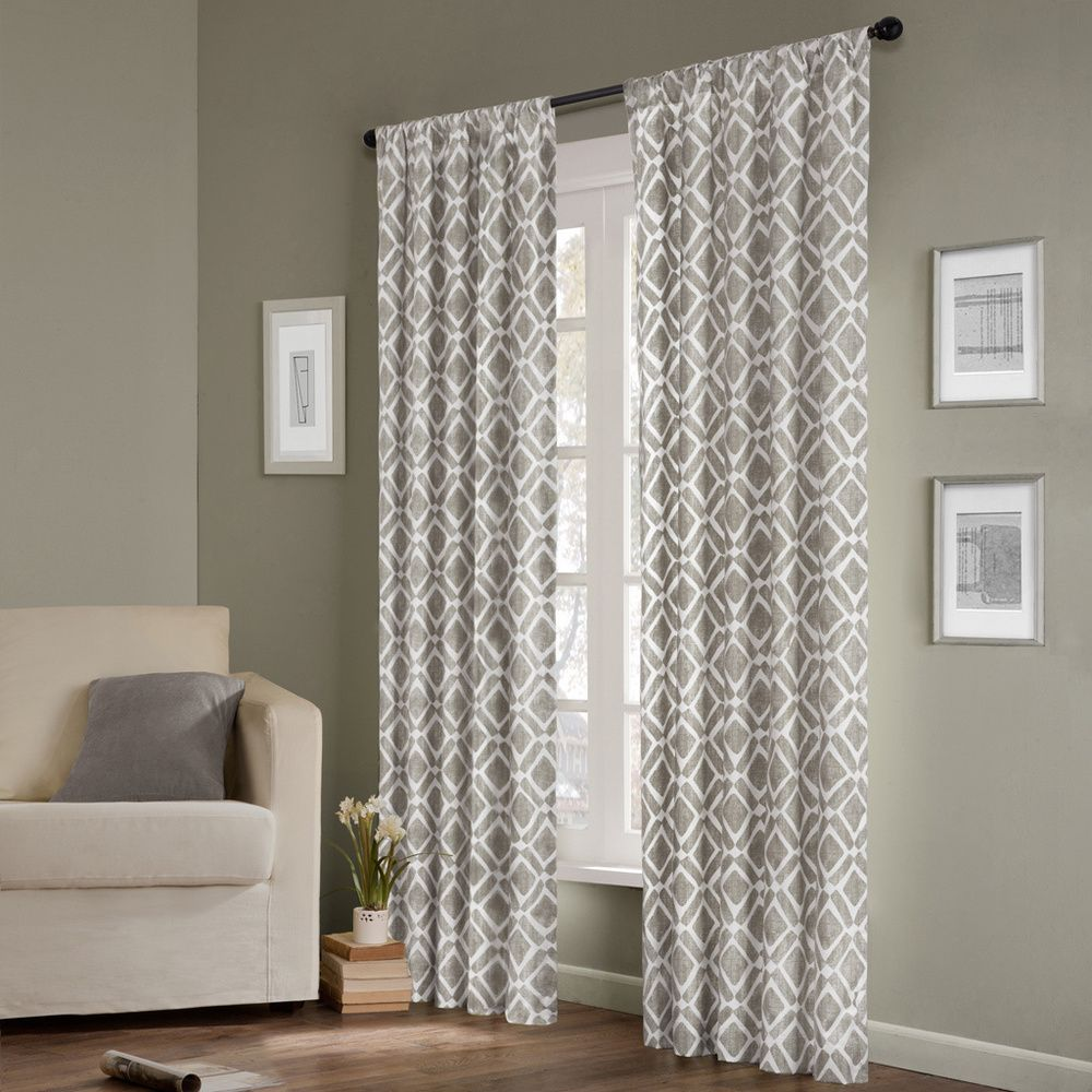 French curtain panels - Madison Park Ella Curtain Panel Overstock Shopping Great Deals On Madison Park Curtains