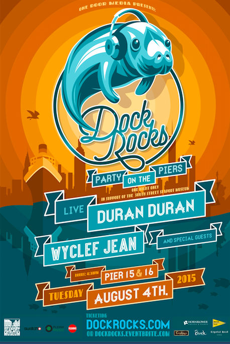 Duran Duran set to rock the docks August 4th in New York City! http://duran.io/1M9hRy6