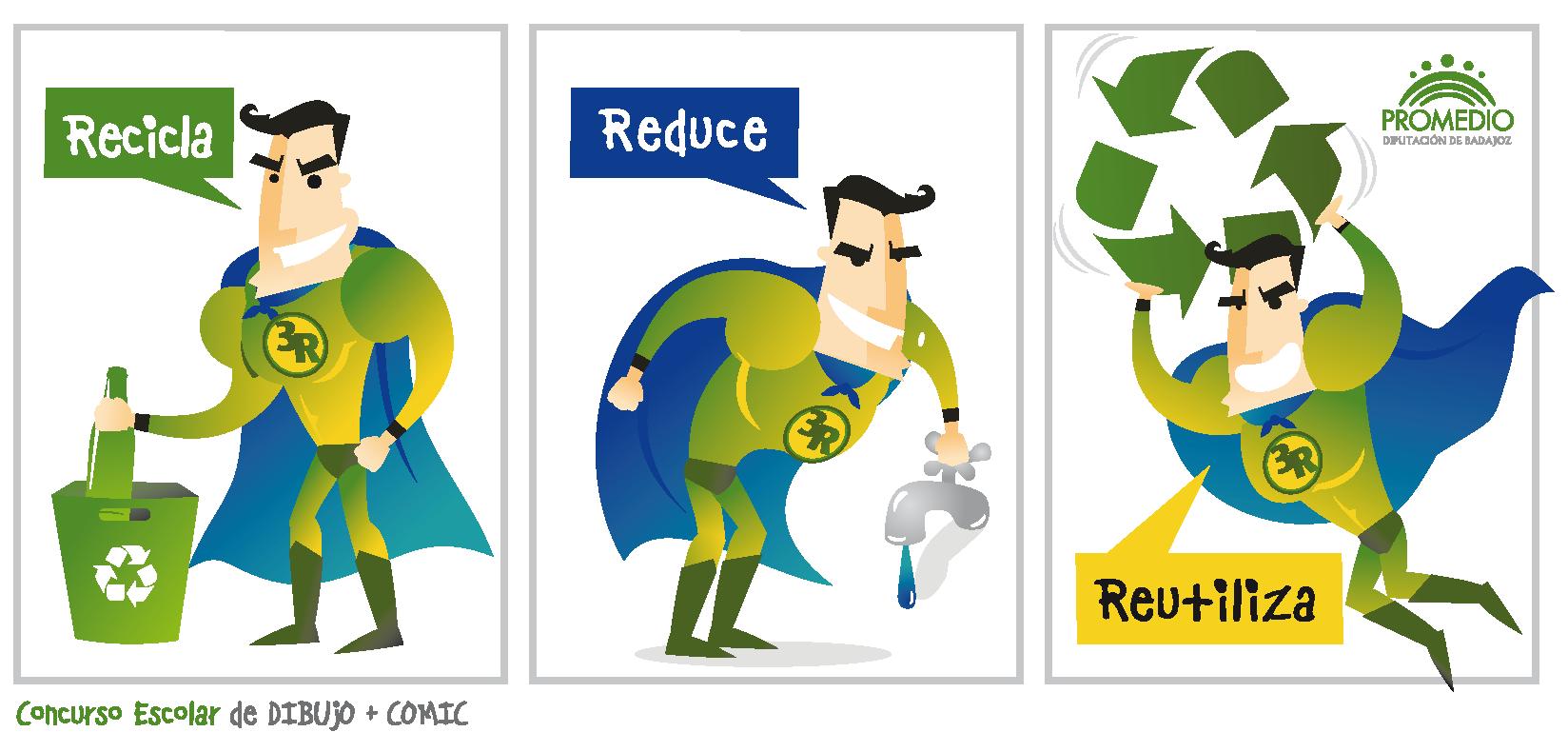 Las 3R - Reducir, Reutilizar y Reciclar | school | Pinterest | School