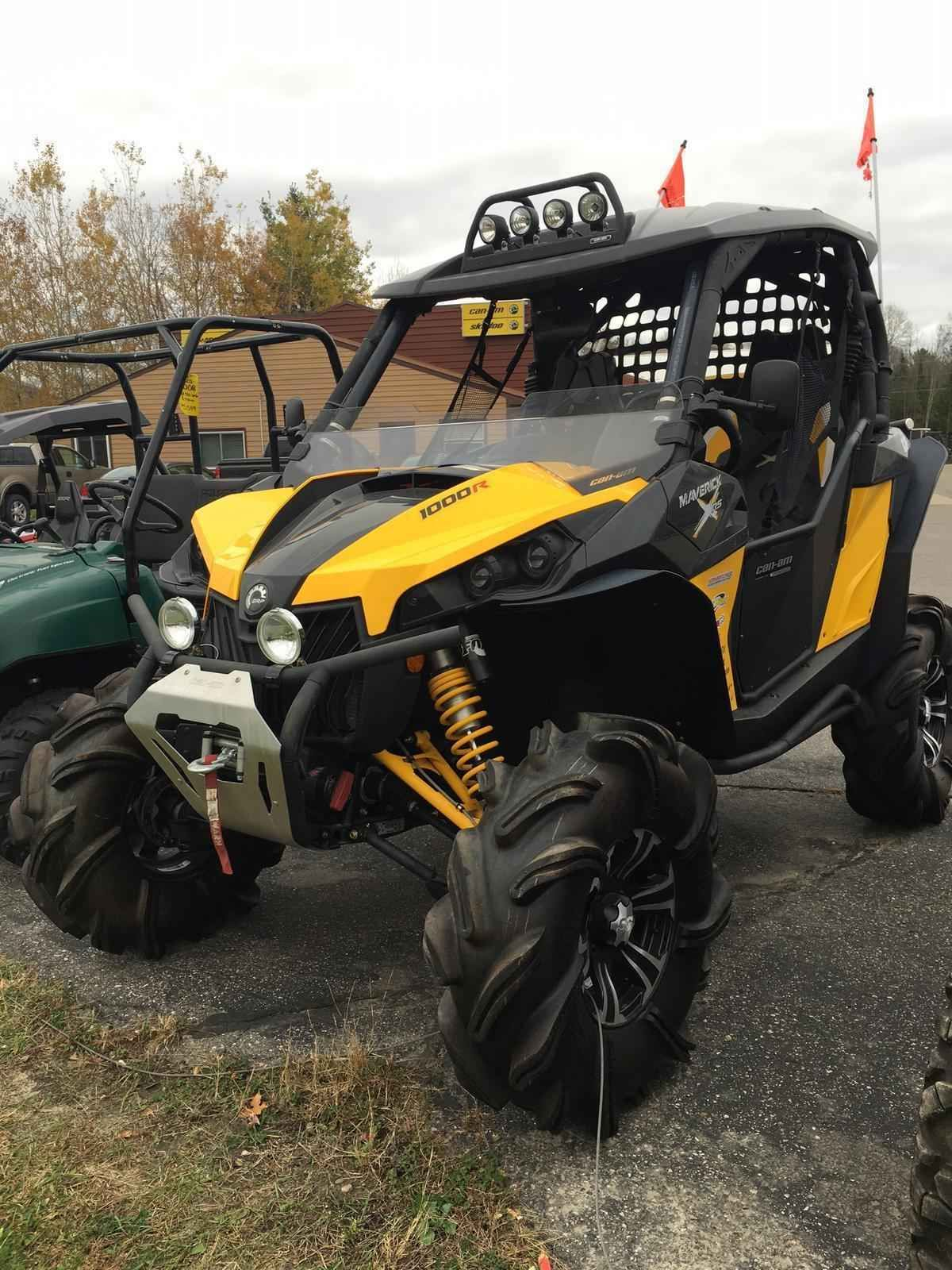 Used 2014 can am maverick 1000 xrs atvs for sale in minnesota 2014 can