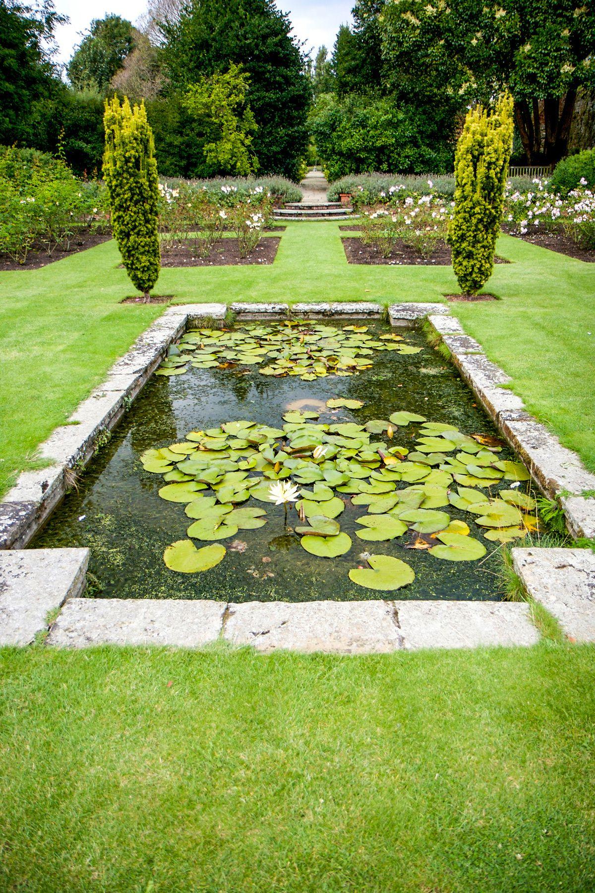 Entramos En Eltham Palace Jardines Jardines Al Aire Libre
