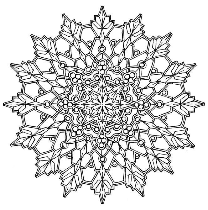 Mandala 552, Creative Haven Kaleidoscope Designs Coloring Book ...