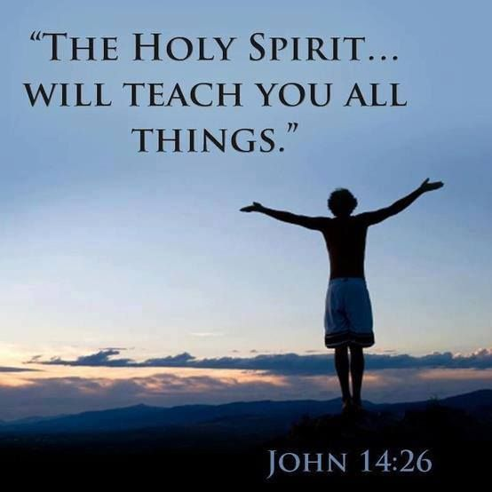 John 14:26 But the Advocate, the Holy Spirit, whom the ...