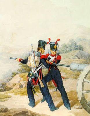 Cannonieri dell'artiglieria a piedi
