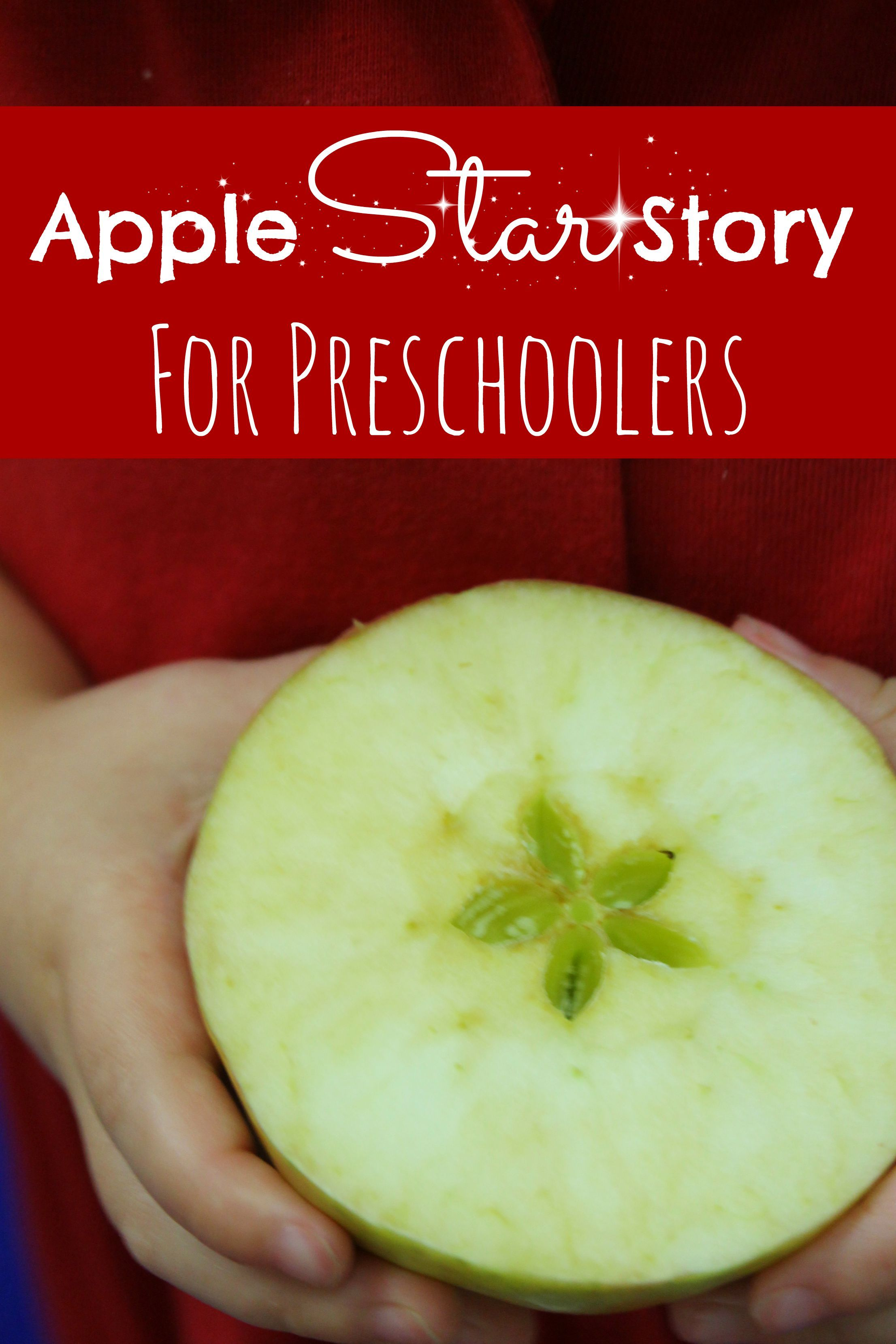 Apple STAR Story for Preschoolers | Apples, Star and School