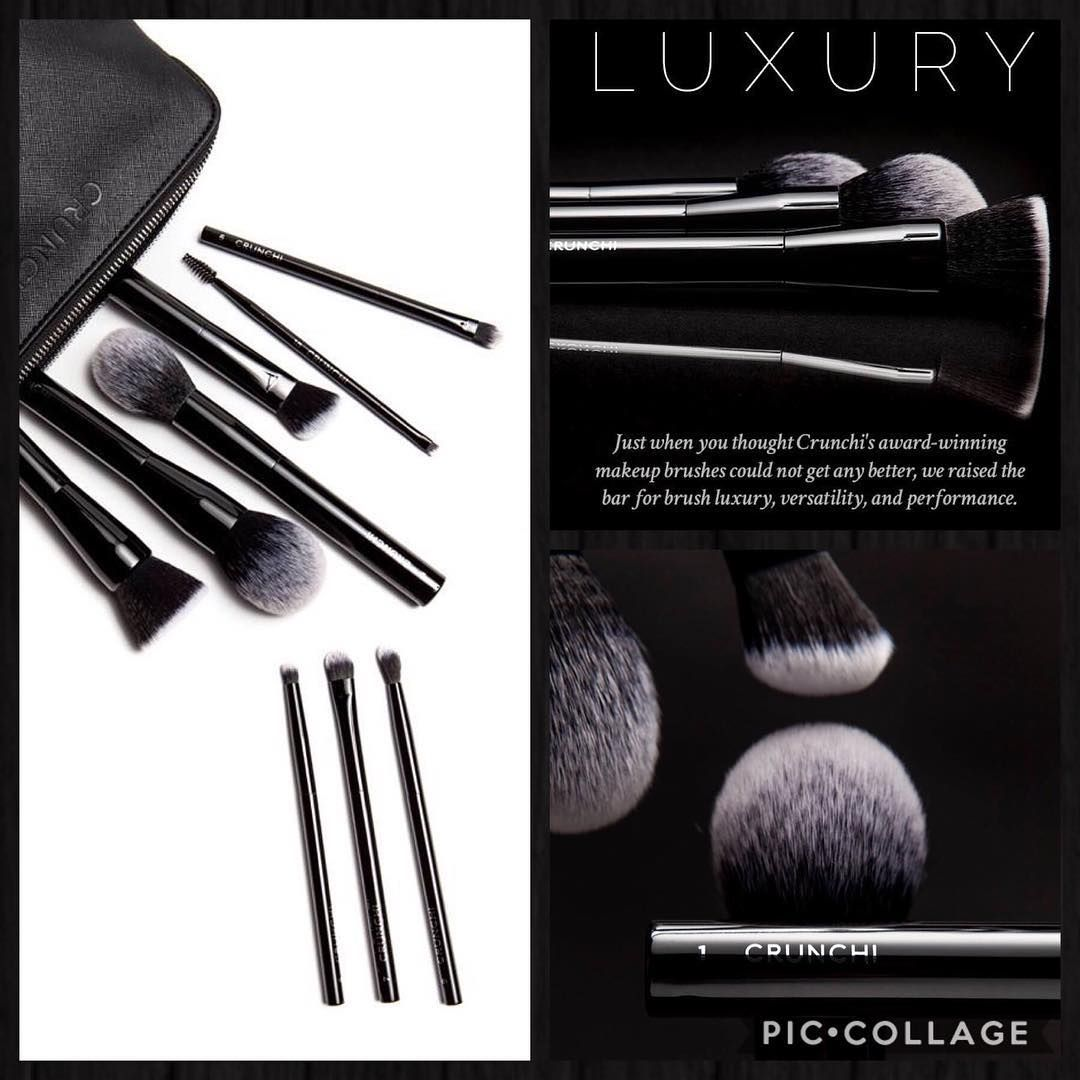 They are here!!!! Our brand new vegan luxury makeup brush