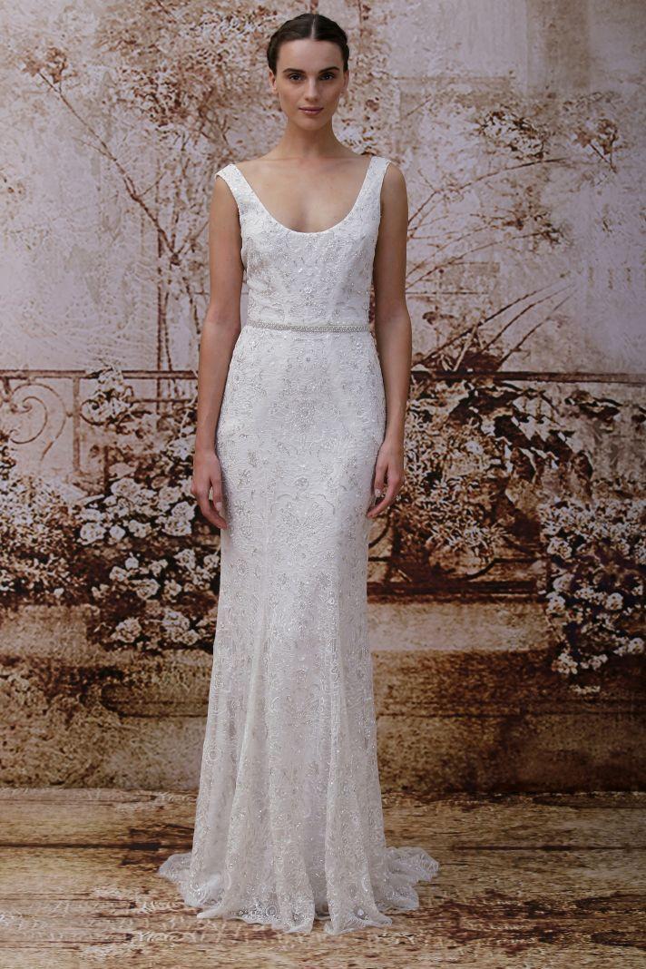Monique Lhuillier's Secret Garden Wedding Dress Collection | OneWed