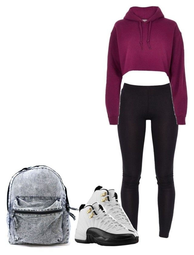 """""""New School New Me"""" by ashfordkeyonna ❤ liked on Polyvore featuring River Island"""