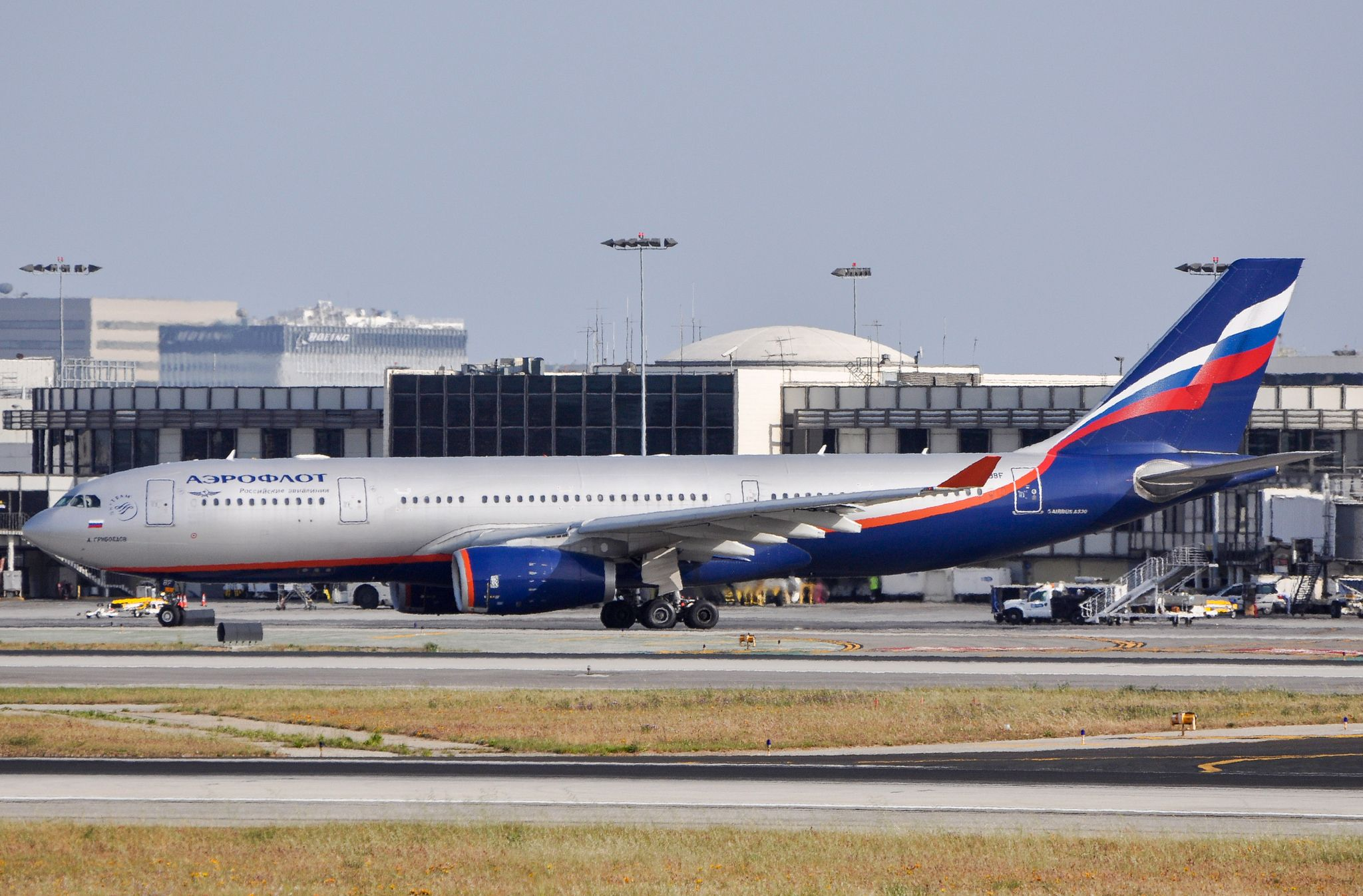 Aeroflot A330243 at LAX_20130407 Aircraft, Commercial
