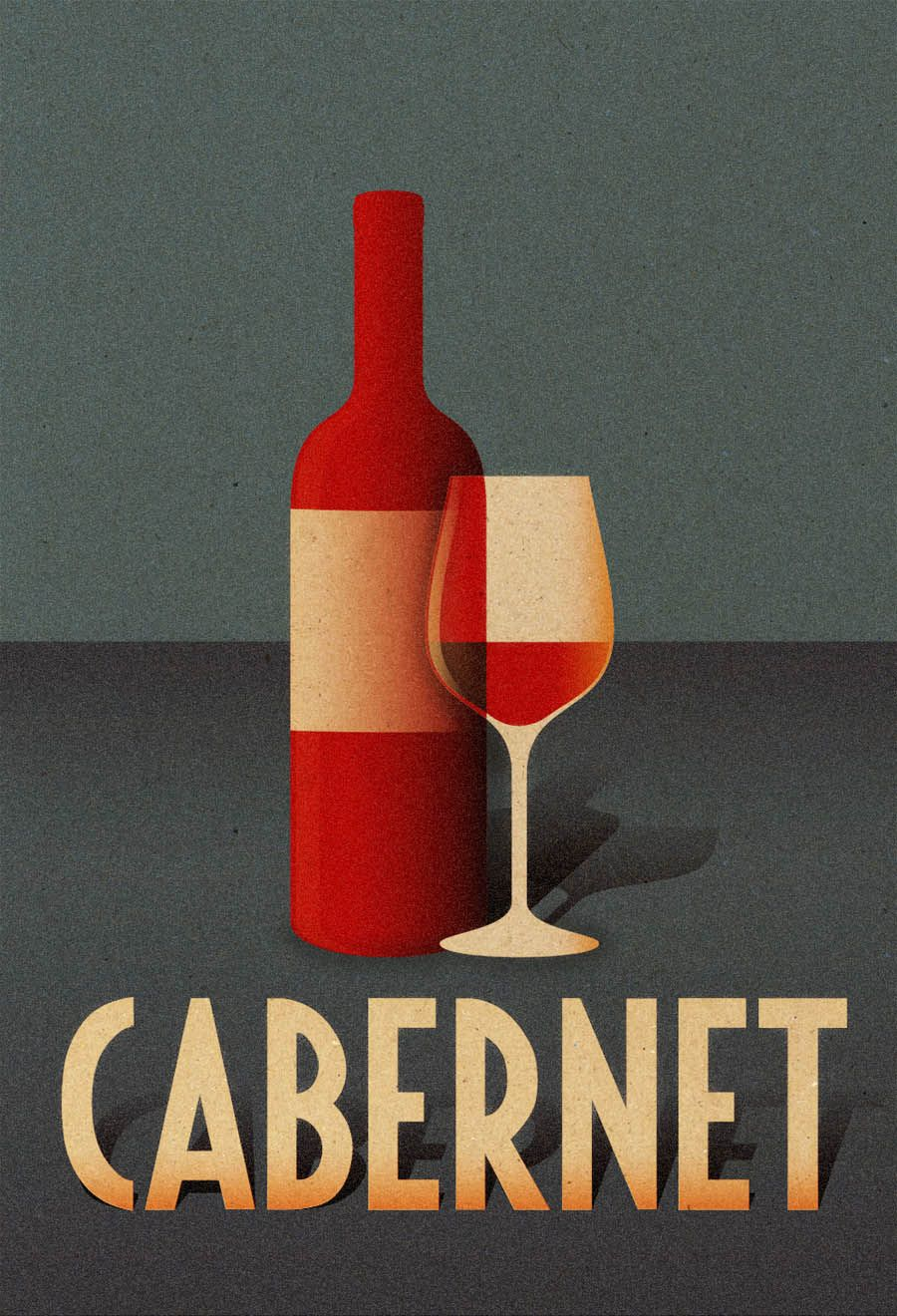 Dribbble Cabernet Full Jpg By Fabio Perez Wine Bottle Images Cabernet Wine Drinks