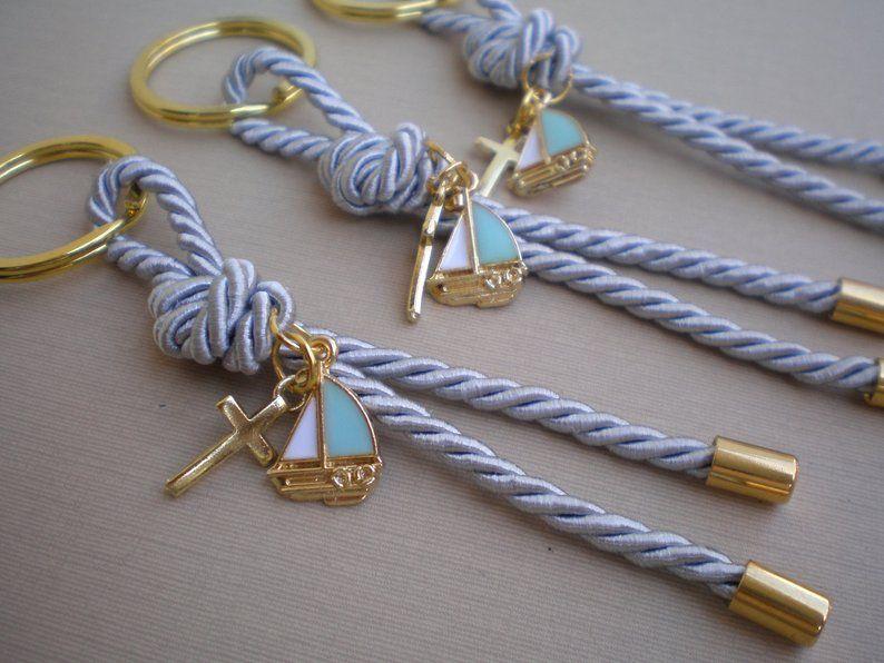 Luxury martirika-nautical martyrika-Key chains Baptism | Etsy