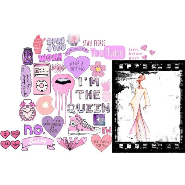 """Tumblr collage""on Polyvore"