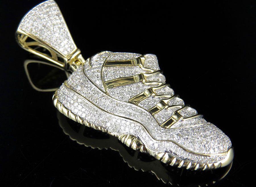 Men's 10k Yellow Gold Real Diamond