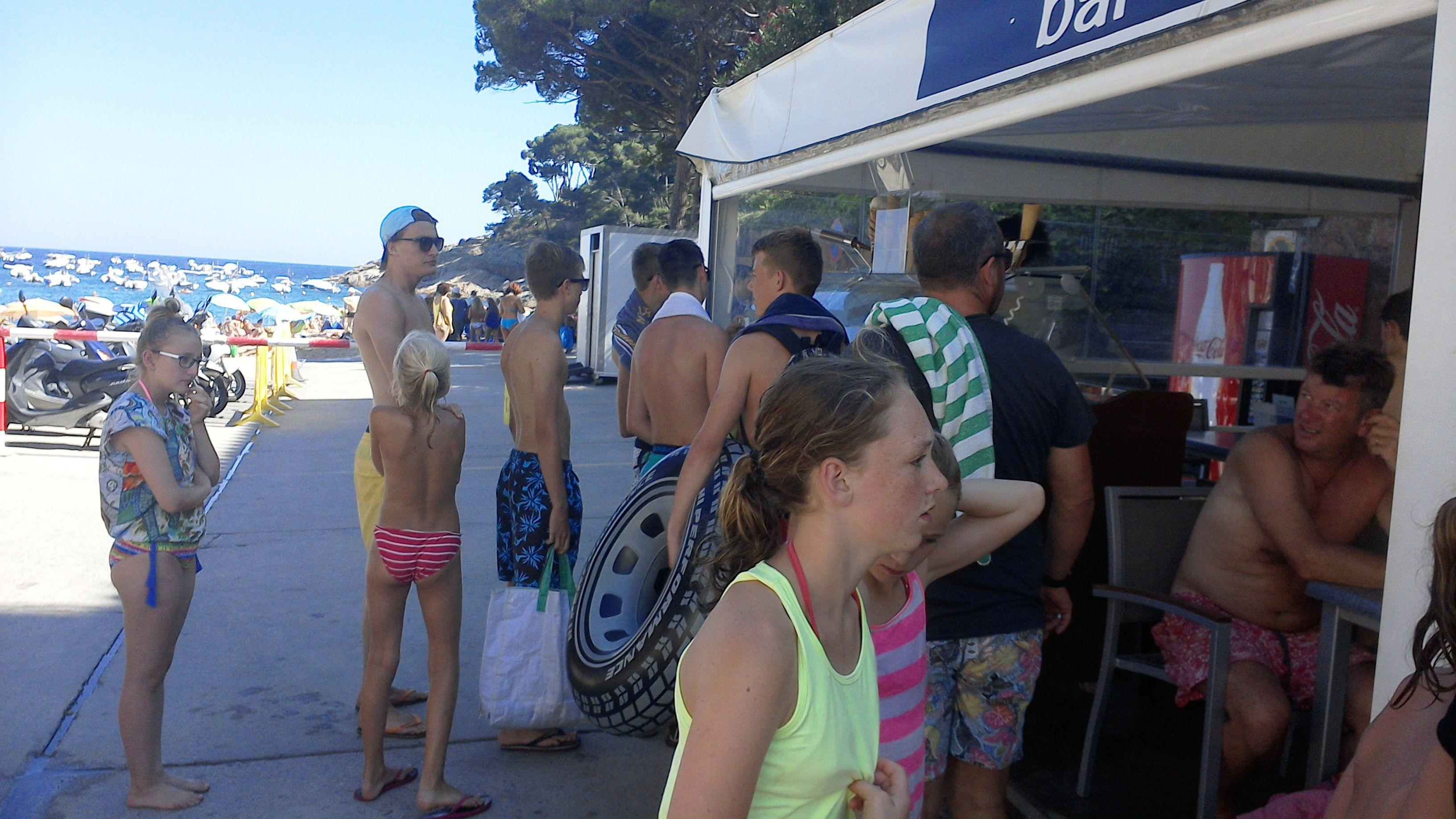 Bar l'Ona de Tamariu, Frigo, Carte d'Or