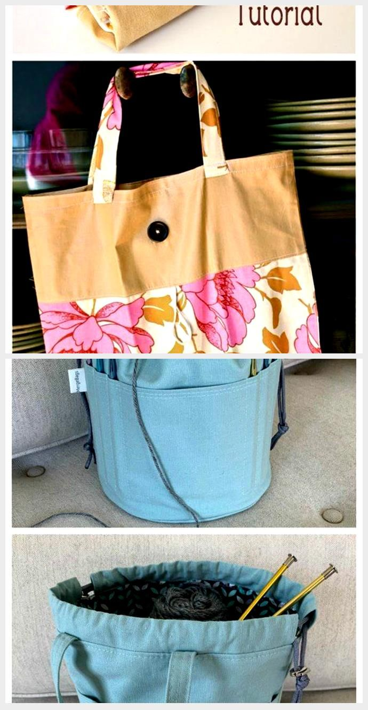 FoldUp Tote Bag  FREE Sewing Tutorial FoldUp Tote Bag  FREE Sewing Tutorial