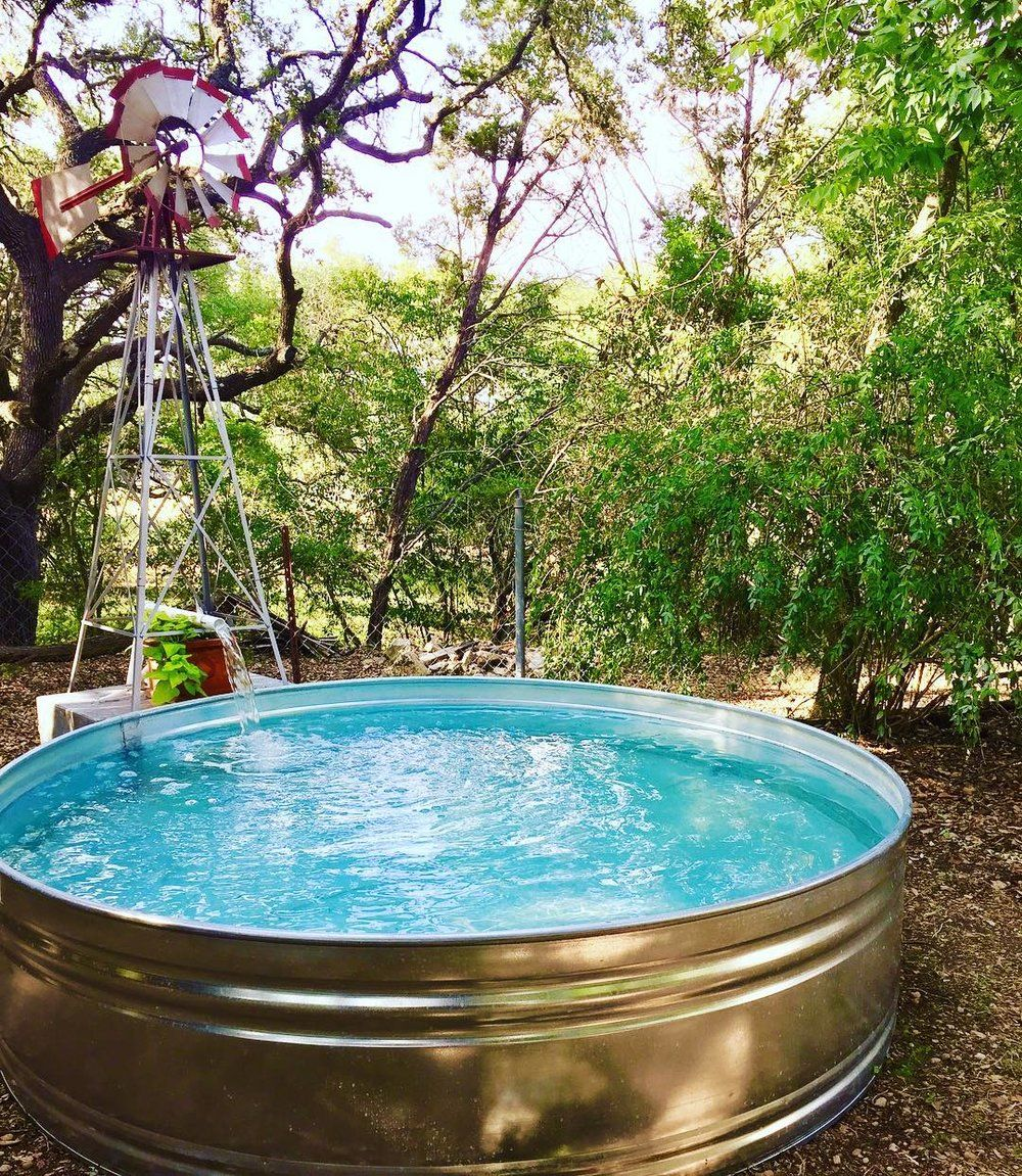 3 steps to set up a stock tank pool stock tank pool tips