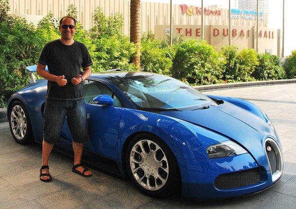 Bugatti Veyron Photos, Million Dollar Car Dubai | The Travel Tart Blog