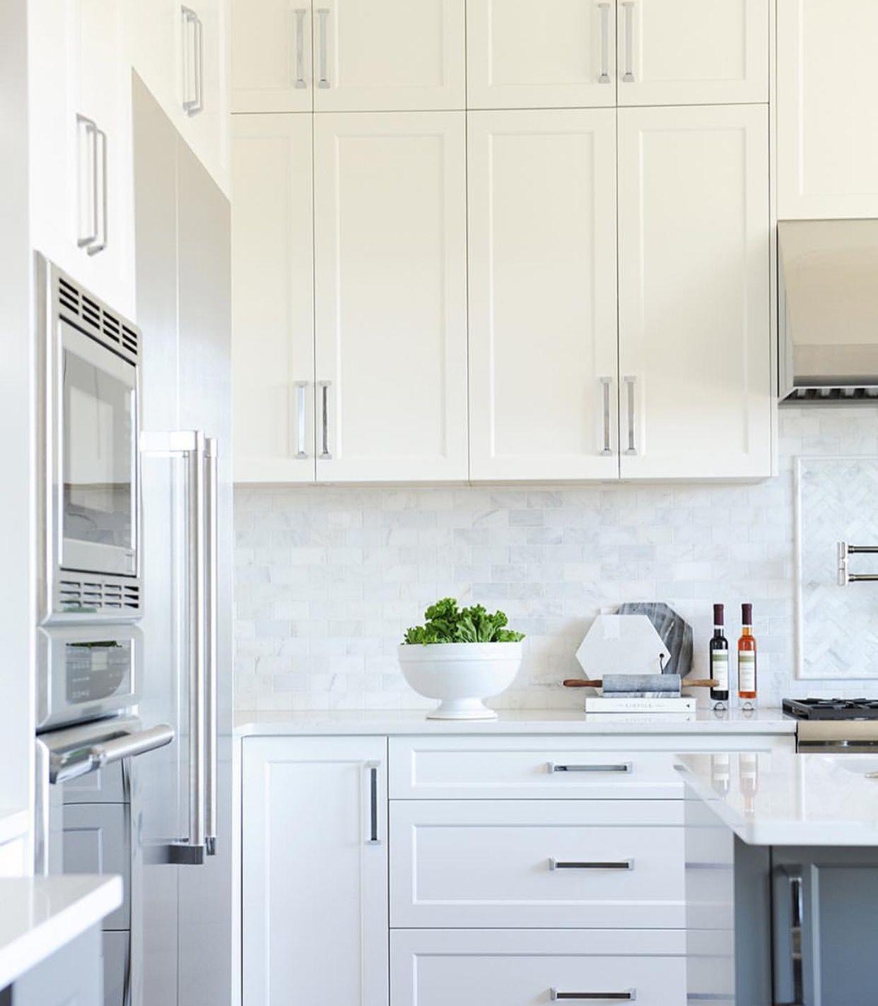 Küchenschränke, Küchen Spritzschutz, Rückwand Verkleiden, Küchenweiß, Moderne  Weiße Küchen, Evans