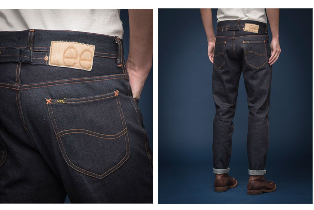Lee 101 Cinch Tapered Jeans | Tapered jeans, Raw denim, Jeans