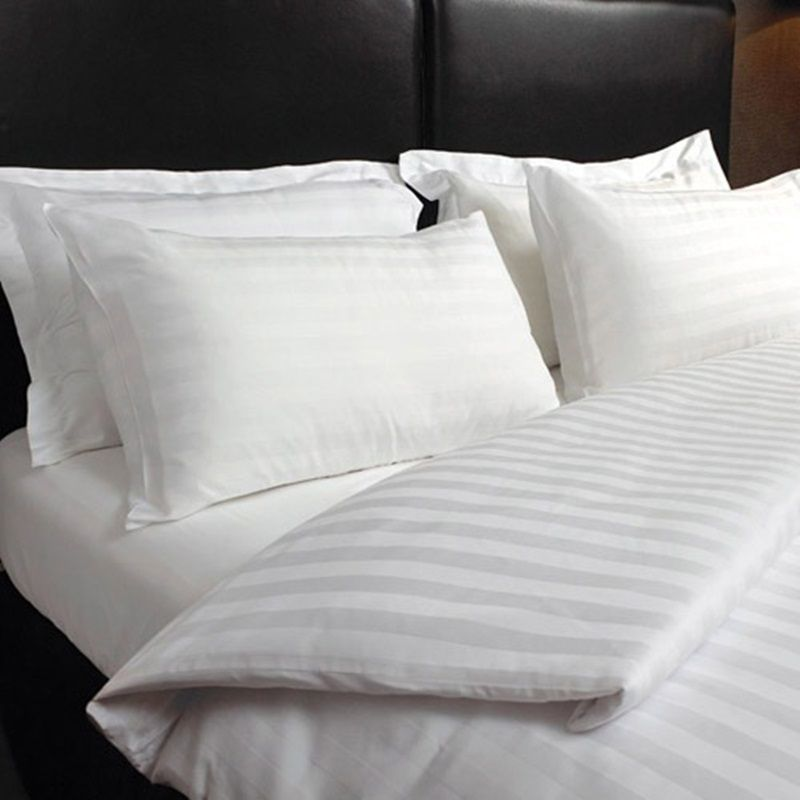 5 Sizes 25 Colors Fitted Sheet  with Matching Free Pillowcases Premium Quality