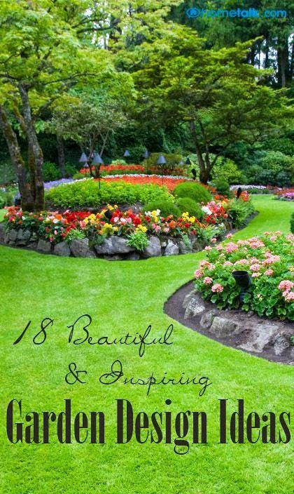 Beautiful Garden Design Ideas   Gardening   Pinterest   Gardens ...