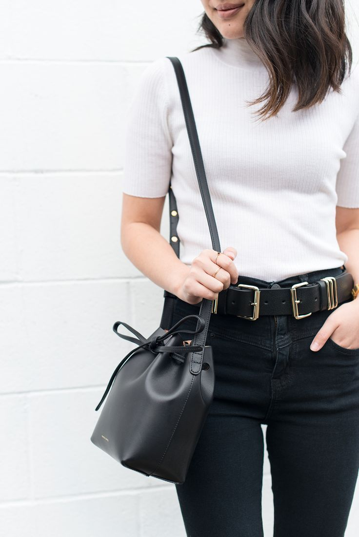 867ae041cbf Mansur Gavriel mini mini bucket bag | Street Style Outfits in 2019 ...