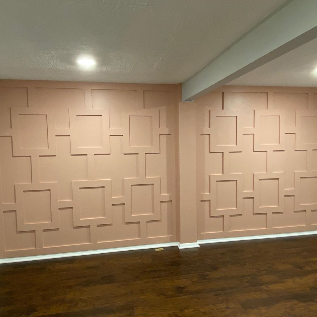 "Ronald Marsh Jr. on Instagram: ""Accent Wall Design custom installed by @dcmetrocarpentry #domestic #renovation #home #millwork #custom #art #design #realtor #justlisted…"""