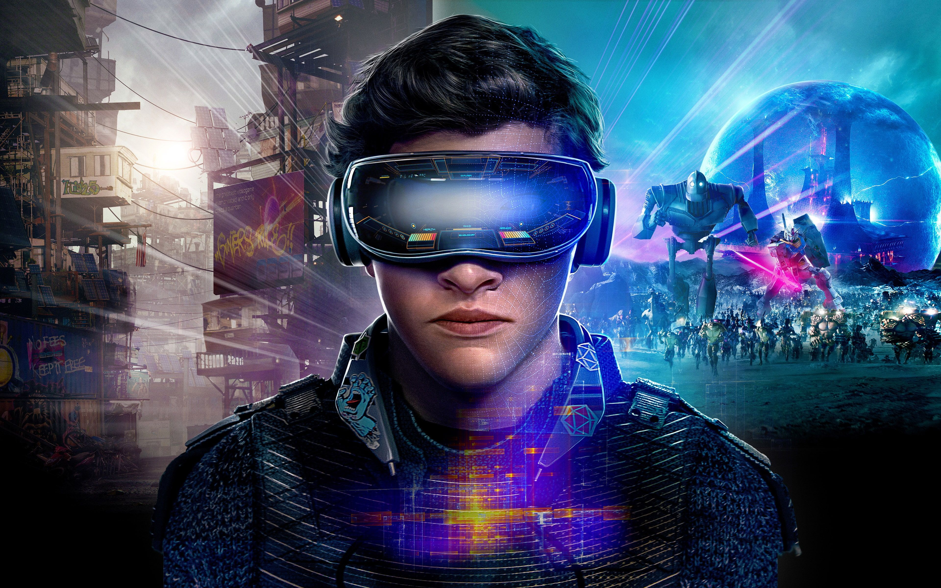 Ready Player One Vr 4k Movie 2018 Ready Player 1 Wallpaper 4k Wallpaper Hdwallpaper Desktop In 2020 Ready Player One Player One Movies To Watch