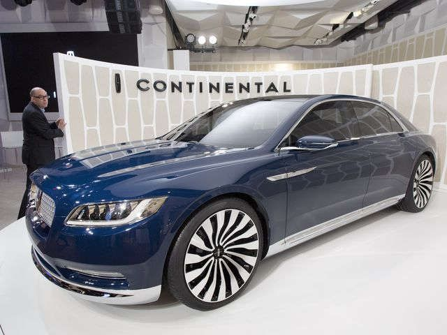 Lincoln Revives Continental Name In Image Overhaul To The Ground - Overhaul car show