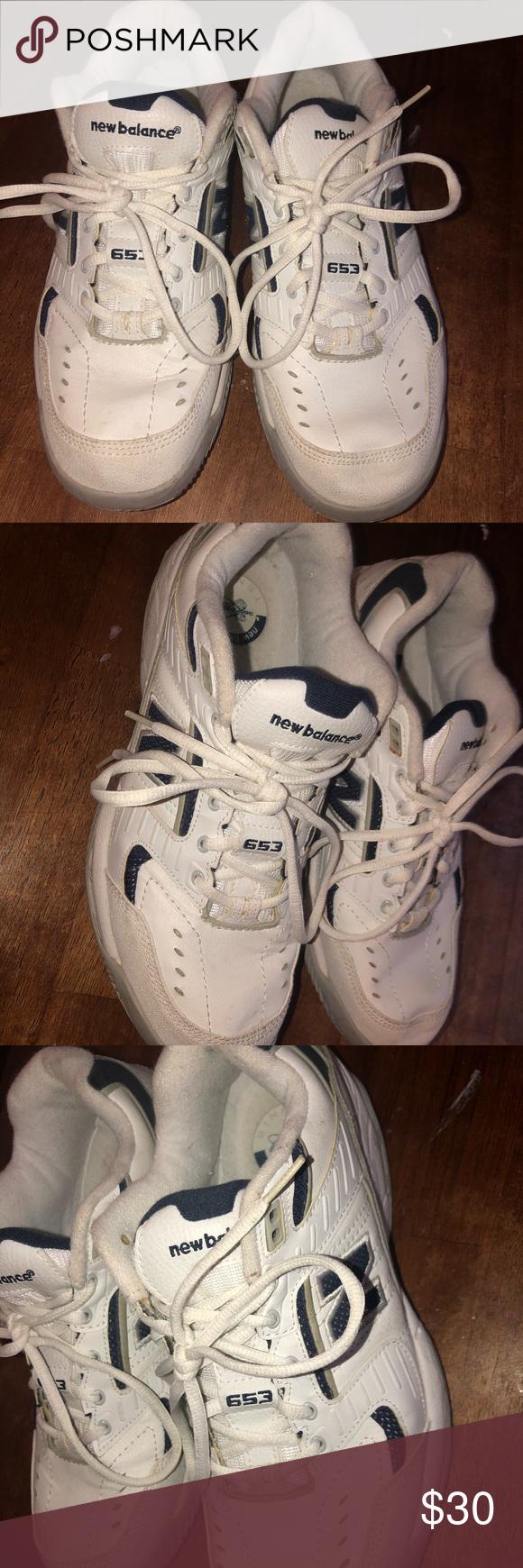 hada exceso Laboratorio  New balance 653 tennis court shoes sneakers 10.5 | Tennis court shoes,  Sneakers, Court shoes
