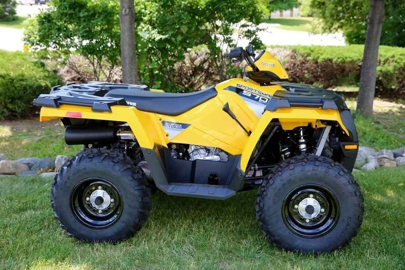 New 2016 Polaris Sportsman 570 Yellow ATVs For Sale in